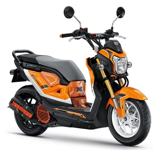 Zoomer-X 2017 แต่ง สีส้ม