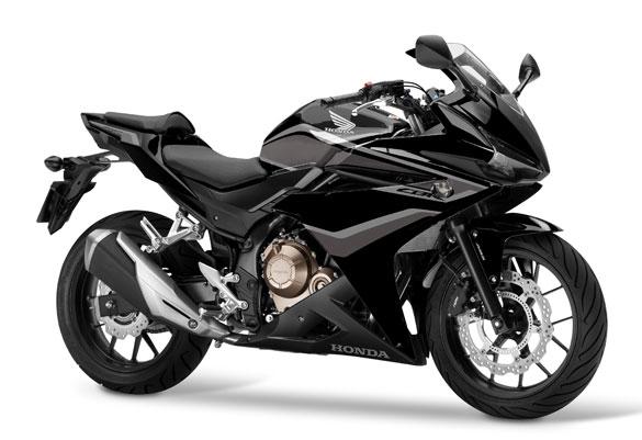 CBR500R สีดำ