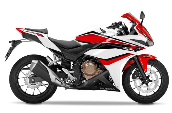 CBR500R สีขาว-แดง