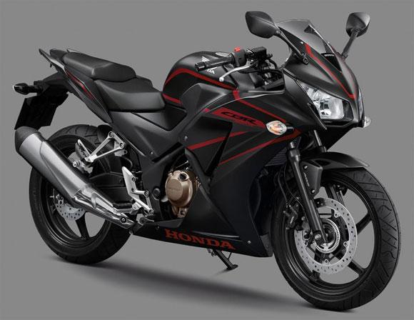 Honda CBR300R สีดำ