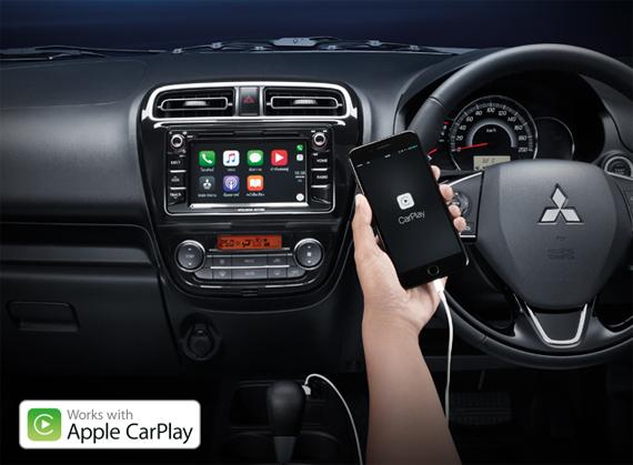 New Mirage 2017 , Apple Carplay