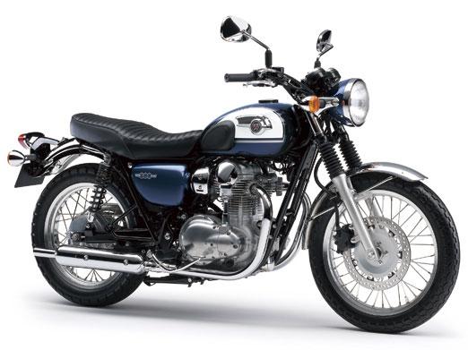 W800 สีน้ำเงิน