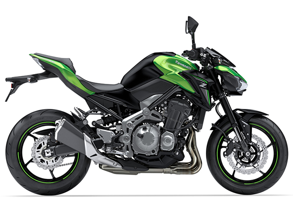 Z900 2018 สีเขียว