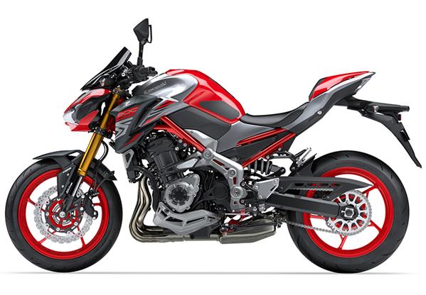 Z900 2018 SE สีแดง
