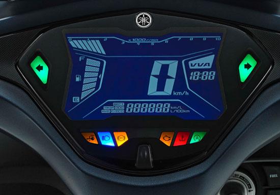 AEROX 155 FULL LCD DIGITAL METER
