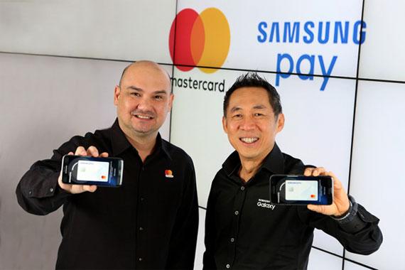 samsung pay, mastercard
