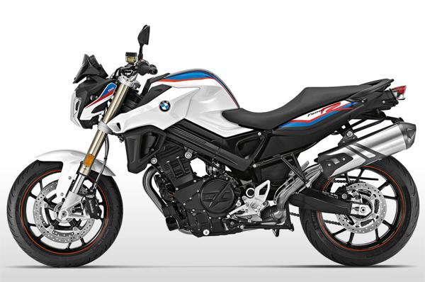 BMW F800R 2018 สีขาว