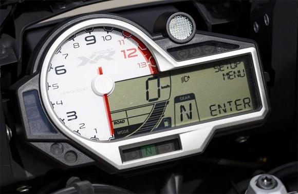 BMW S1000XR Cockpit Meter