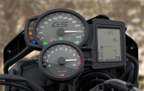 F800GS Cockpit Meter