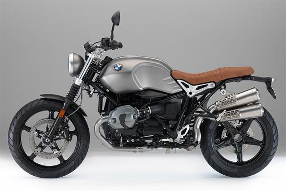 BMW R nineT Scrambler Monolith Metallic Matt