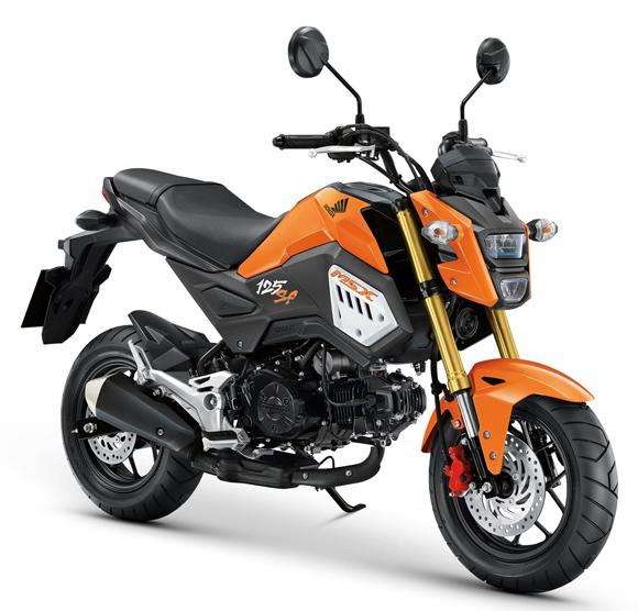 MSX125SF 2018 สีส้ม
