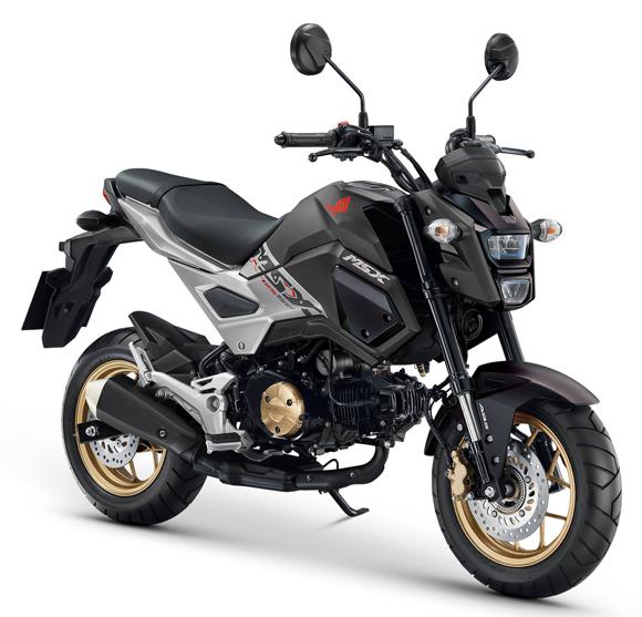 Honda MSX 2018 สีดำ