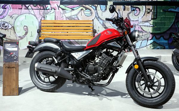 Rebel 300 รุ่น Raw Edition Red