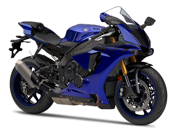 Yamaha R1 สีน้ำเงิน