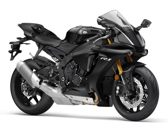 Yamaha R1 2017 สีดำ