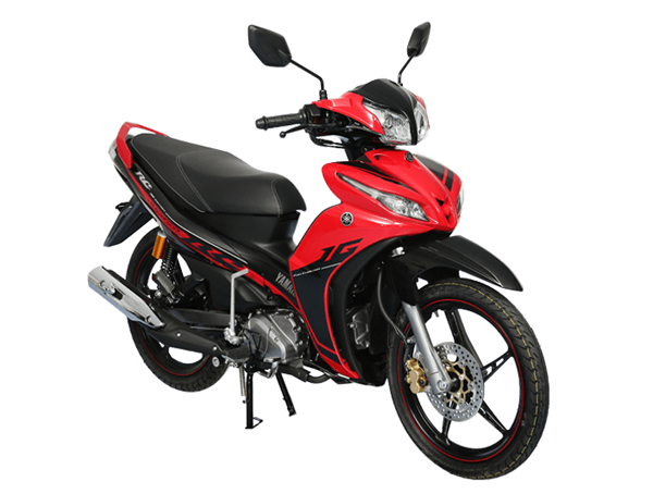 Yamaha Jupiter RC สีแดง
