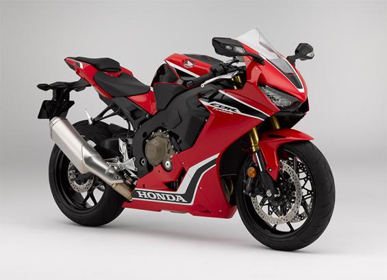 Honda CBR1000RR สีแดง