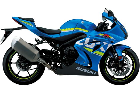 GSX R1000 2017 สีน้ำเงิน