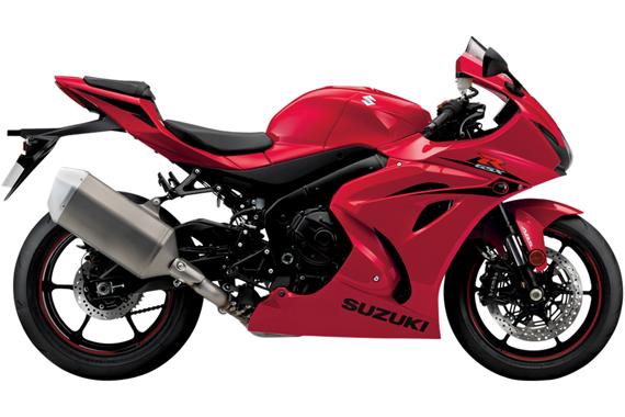 GSX R1000 2017 สีแดง