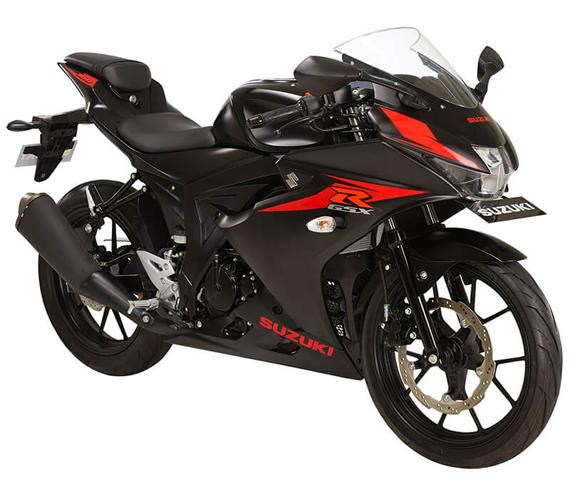 GSX R150 สีดำ