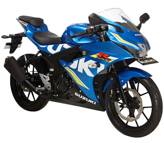 GSX R150 สีน้ำเงิน