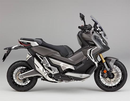 Honda XADV สีเงินด้าน, สีน้ำตาล