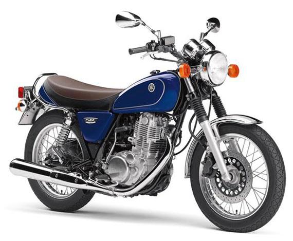 SR400 สีน้ำเงิน