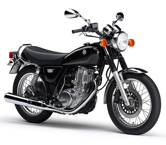 SR400 สีดำ