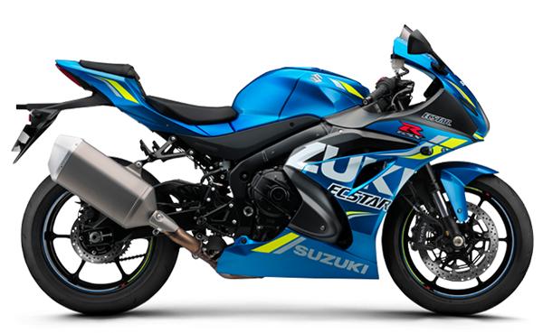 GSX R1000 2018 สีน้ำเงิน