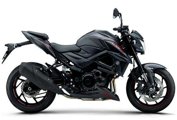 GSX S750 สีดำ