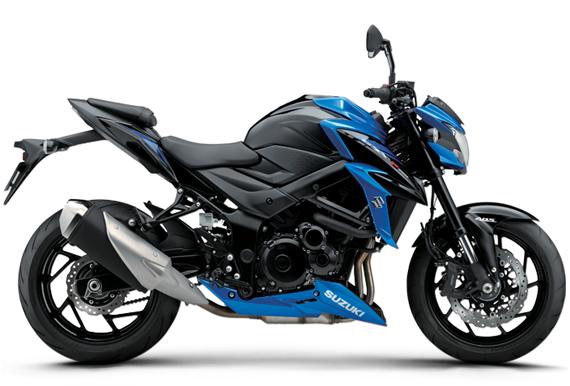 GSX S750 สีน้ำเงิน