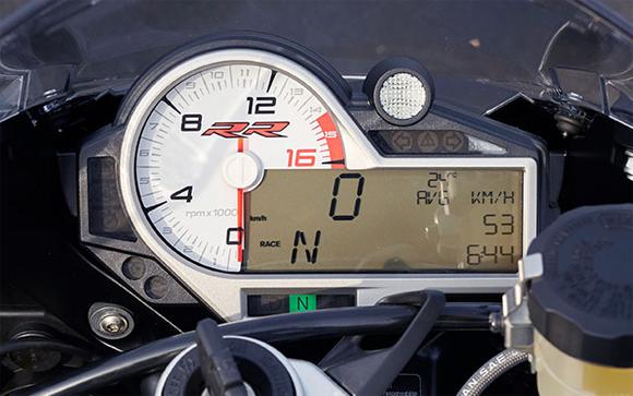 BMW S1000RR Cockpit Meter
