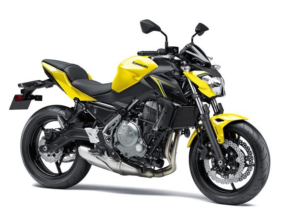 Z650 2018 สีเหลือง