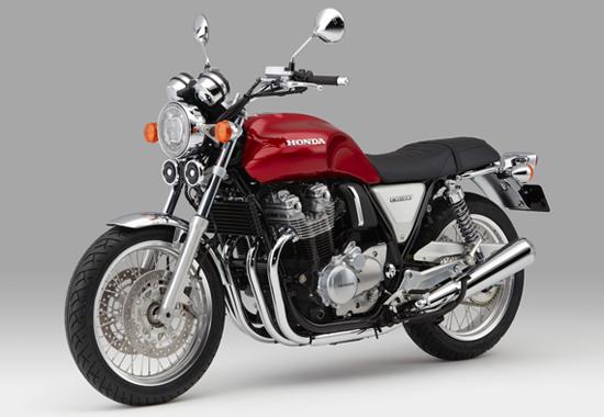Honda CB1100EX สีแดง