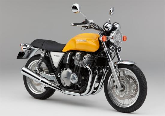 Honda CB1100EX สีเหลือง