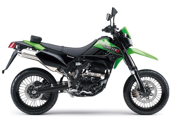 Kawasaki D-Tracker 250 สีเขียว