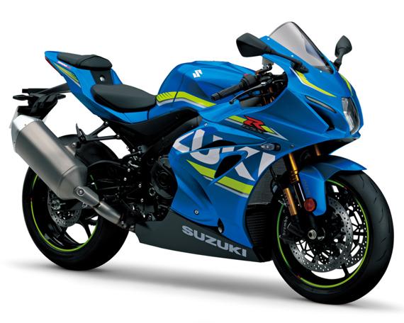 GSX-R1000R สีน้ำเงิน