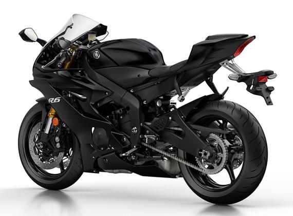Yamaha R6 สีดำ