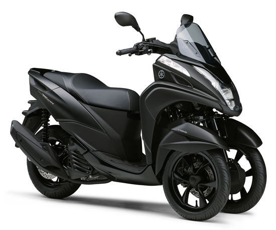 Tricity 155 ABS สีดำ