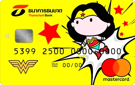 บัตรเดบิต Thanachart Justice League Chibi