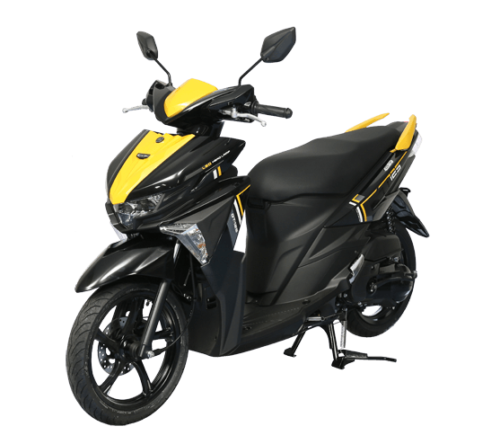 Yamaha G125 สีเหลือง-ดำ