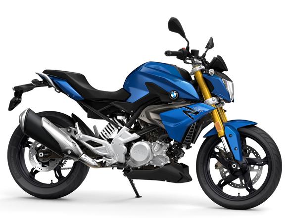 BMW G 310 R 2020-2021 สีน้ำเงิน