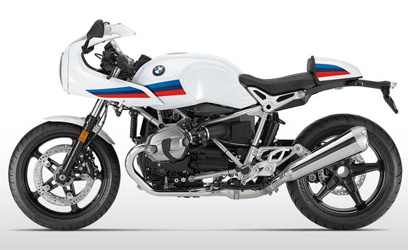 BMW R nineT Racer สีขาว