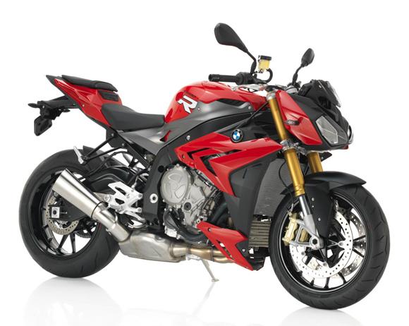 BMW S1000R สีแดง