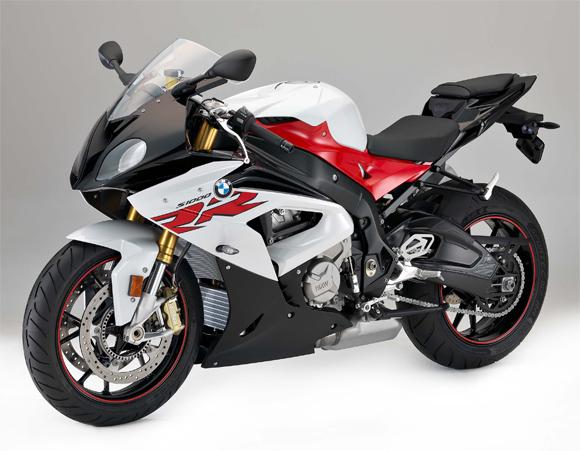 S1000RR สีขาว-แดง