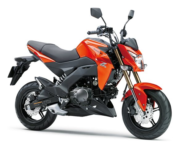 Z125 2019-2021 สีส้ม