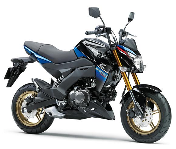Z125 Pro สีน้ำเงิน