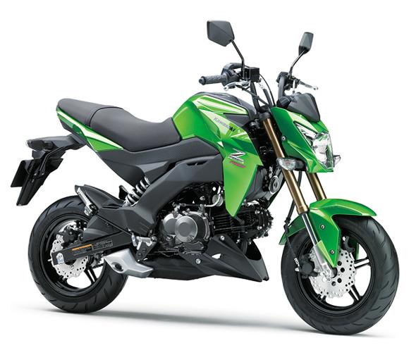 Z125 Pro สีเขียว