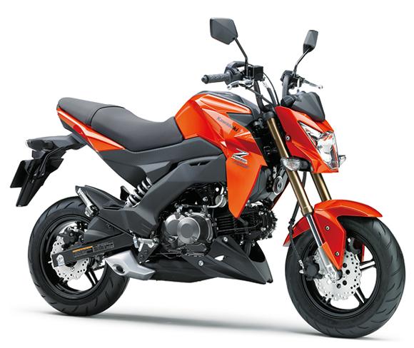 Z125 Pro สีส้ม