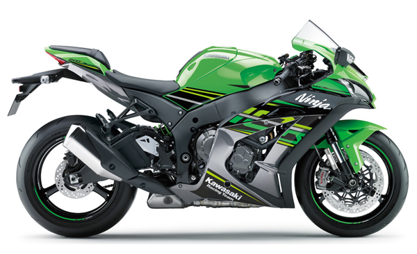 Ninja ZX10R 2018 สีเขียว